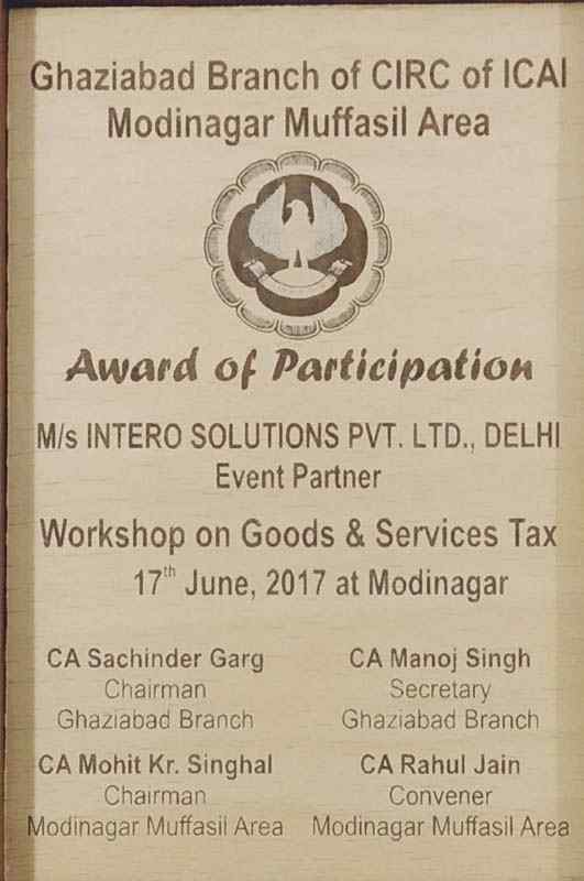 Event Partner of Workshop on GST